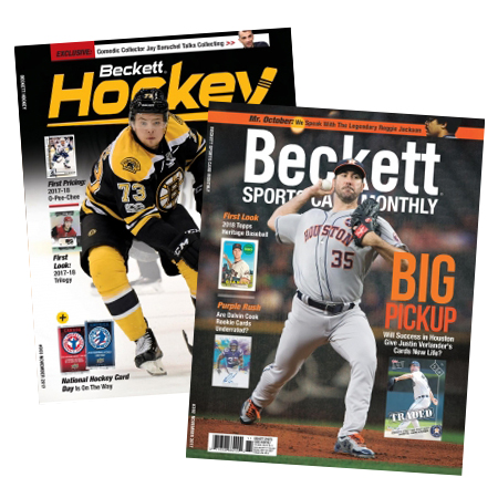 Beckett Sports Card + Hockey